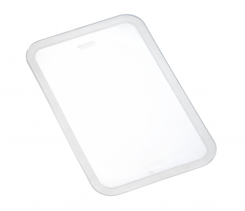 Silicone lid gn1/1 transparent