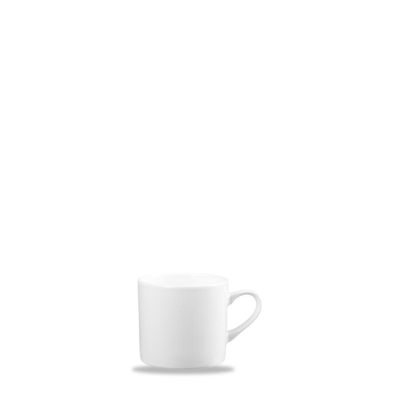 Alc Ambience White Can Coffee Cup 4.5Oz Box 6