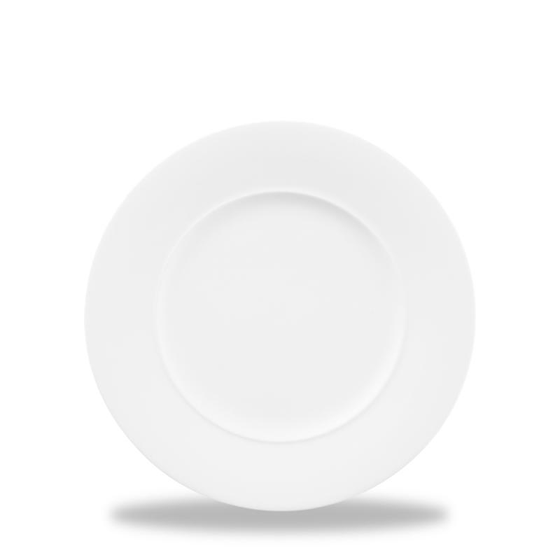 "Alc Ambience White Standard Rim Plate 6"" Box 6"