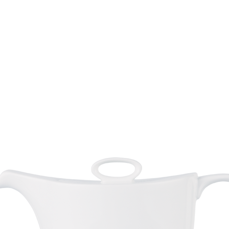 Alc Ambience White Oval Teapot Lid 15Oz Box 6