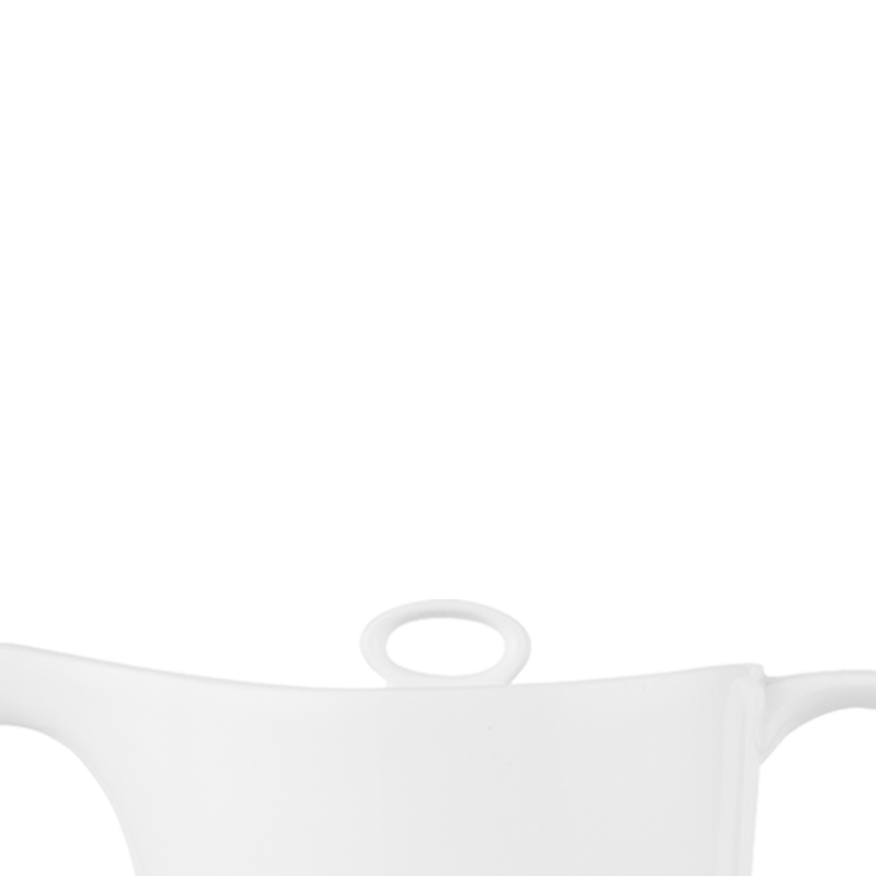 Alc Ambience White Oval Coffee Pot Lid 18Oz Box 6