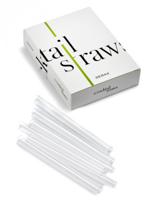 Cocktail Straw S/6 D0,9 L13