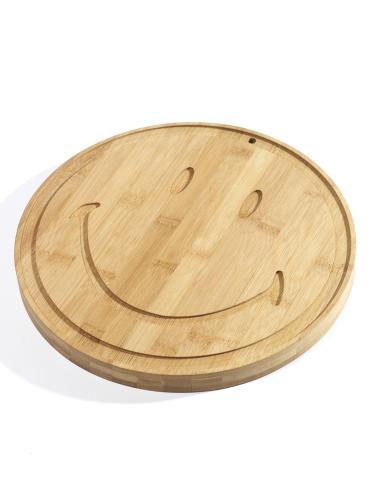 Bamboo Board Smiley Large D30 H2,5