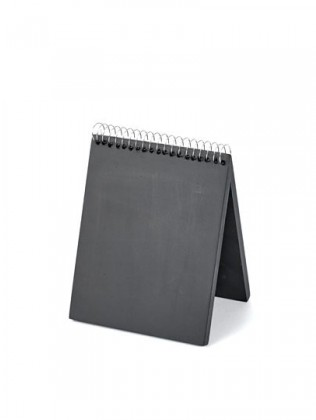 (C06)Chalkboard Book Small 12X9Xh15 No Glass