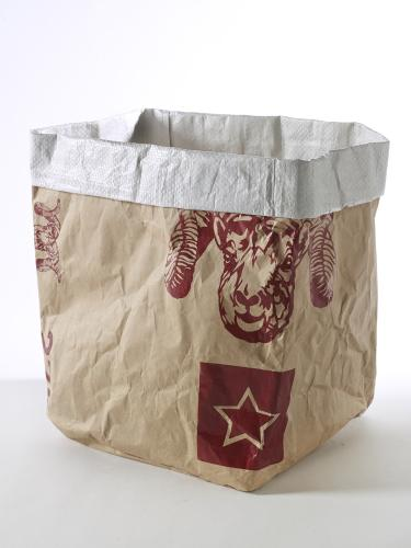 Paperbag Feeling Large 26X26Xh30 Brown