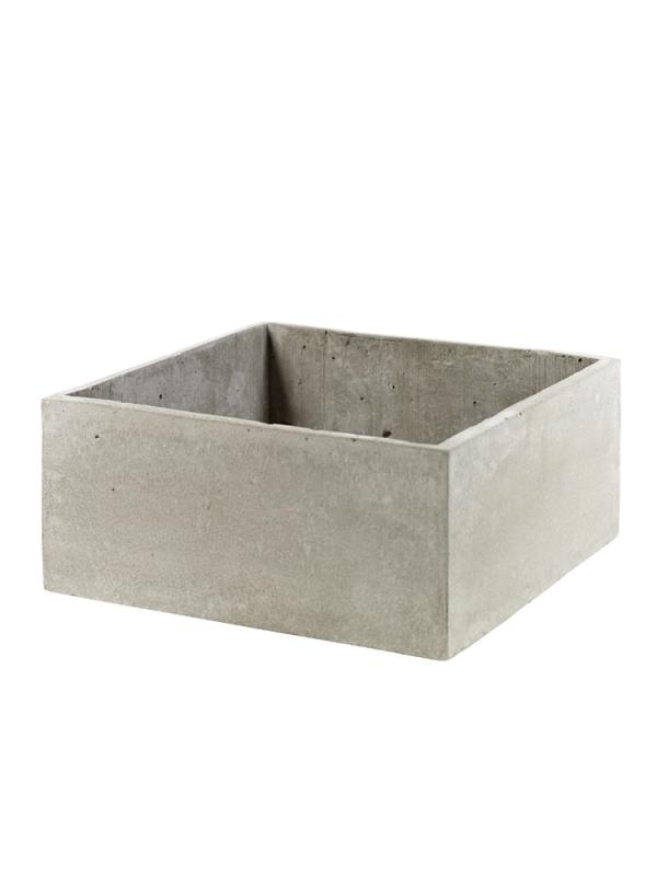 Cement Pot With Holes Square 29X29Xh13
