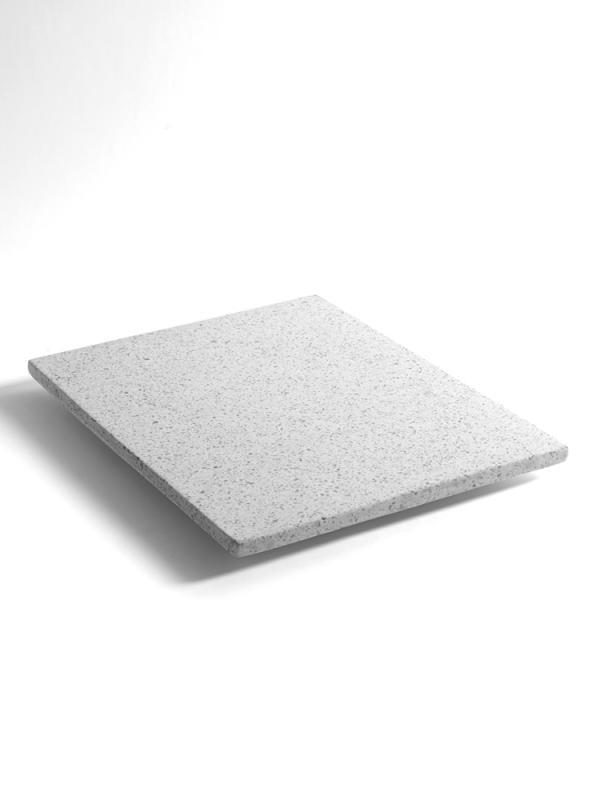 "Presentation Platter ""White Terrazzo"" Rect 35X45"