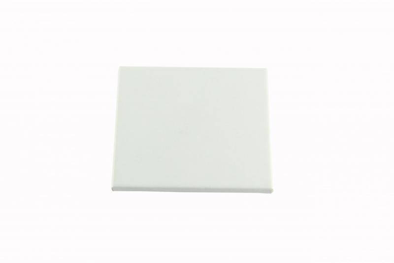 Coaster 9X9.5 White