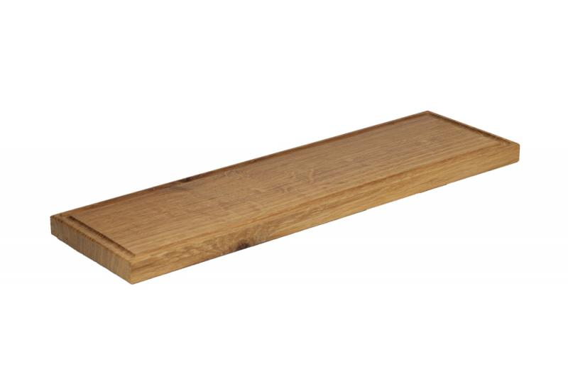 Rectangular Board with a Groove