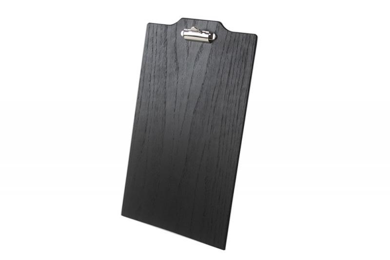 Menu board Oak W Brass Clip