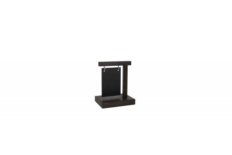 Information Display A7 Wood + Steelplate