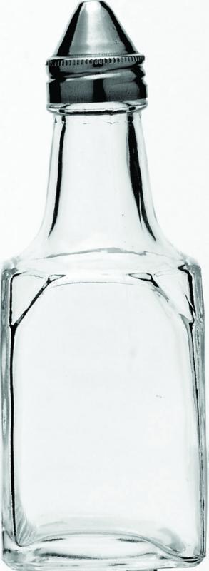 Square Vinegar Bottle, Stainless Steel Top-48