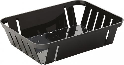 "Black Munchie Basket 10.5 x 8"" (26.5 x 20cm) - 12"