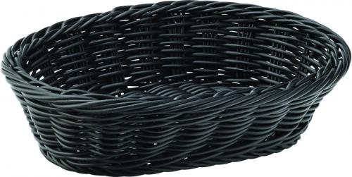 "Black Oval Basket 9"" (23cm) - 6"
