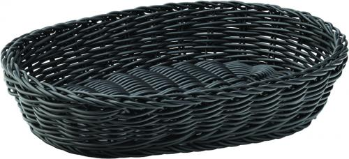 "Black Oval Basket 11.5"" (29cm)"