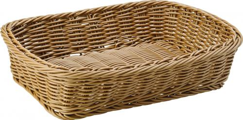 "Caramel Rectangular Basket 11.5 x 8.5"" (30 x 21.5cm) - 6"