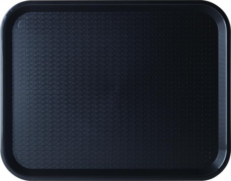 """Black Cafe Tray 14 x 10"""" (36 x 26cm)24"""