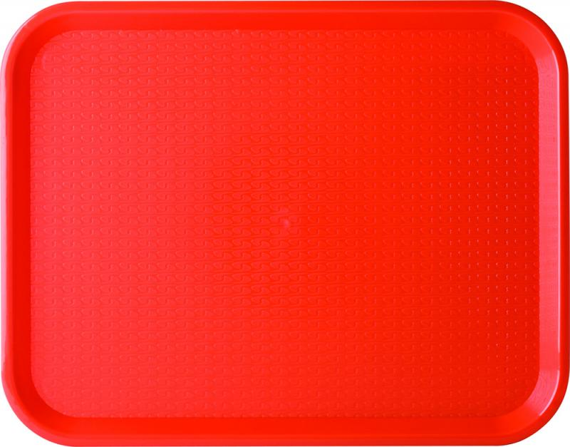 "Red Cafe Tray 14 x 10"" (36 x 26cm)"
