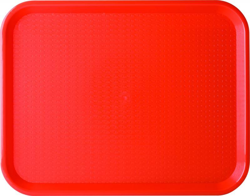 "Red Café Tray 16 x 12"" (43 x 30cm)"