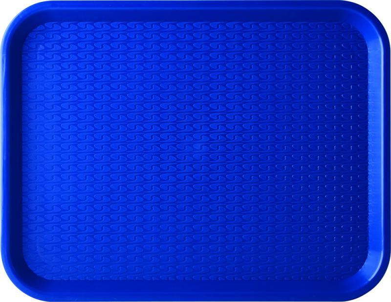 "Blue Café Tray 18 x 14"" (46 x 36cm)12"