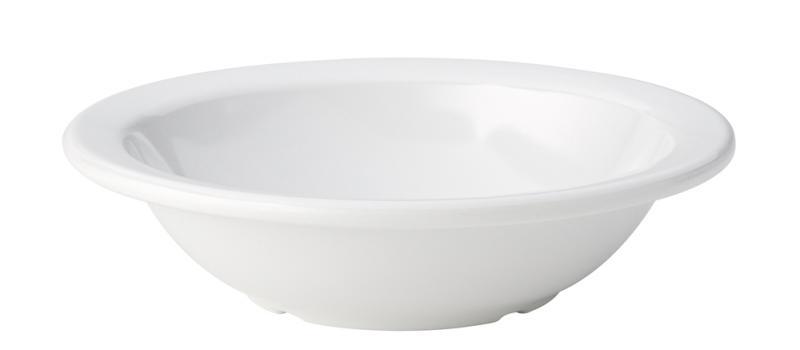 "Kingline White Rimmed Fruit Bowl 6"" (15cm) 9.75oz (28cl)48"