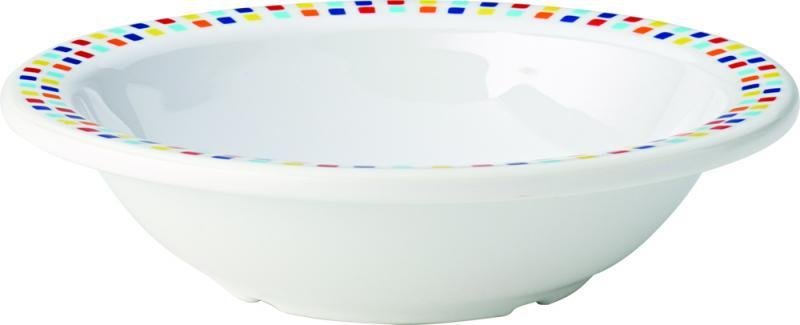"Kingline Spanish Tile Rimmed Fruit Bowl 6"" (15cm) 9.75oz (28cl)48"