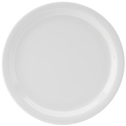 "Kingline White Plate 9"" (23cm)48"