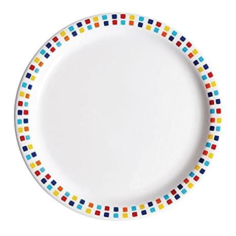 "Kingline Spanish Tile Plate 9"" (23cm)48"