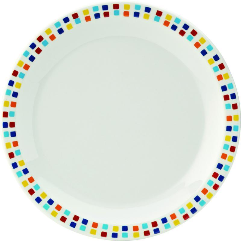"Kingline Spanish Tile Plate 6.25"" (16cm)48"