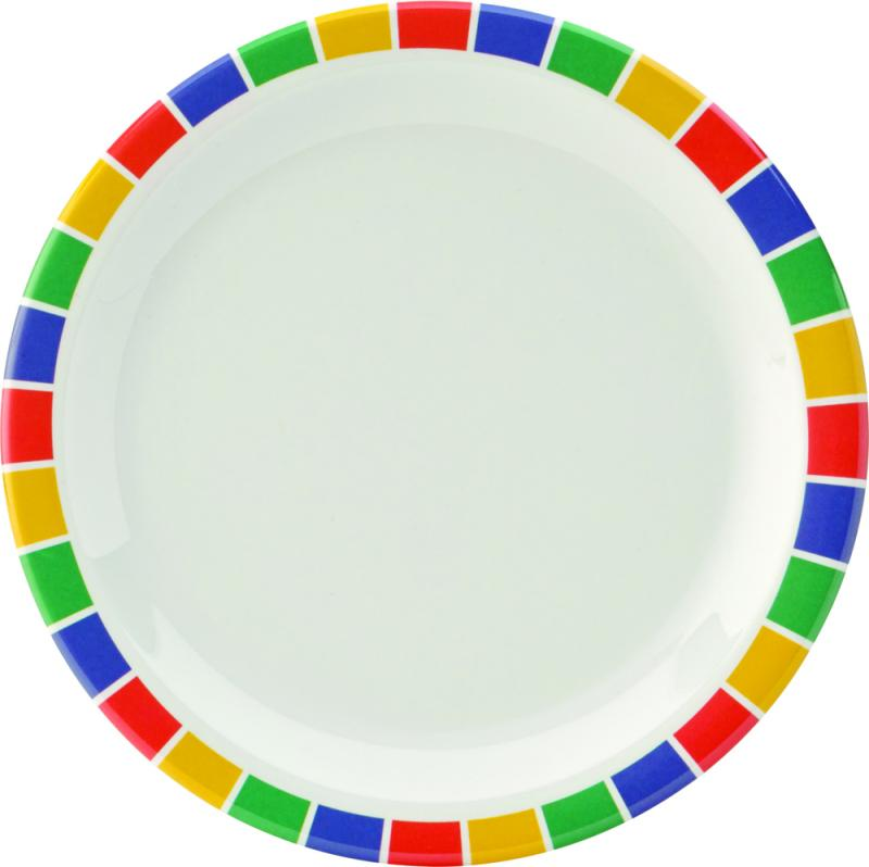 "Kingline Caribbean Block Plate 6.25"" (16cm)48"