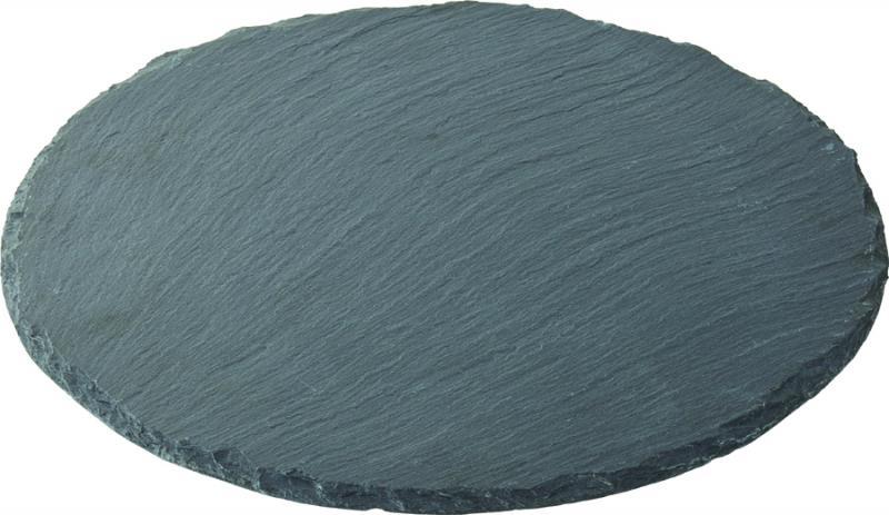 """Round Slate Platter 12"""" (30cm)"""