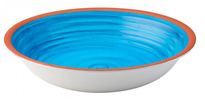 """Calypso Blue Bowl 13.5""""24"""