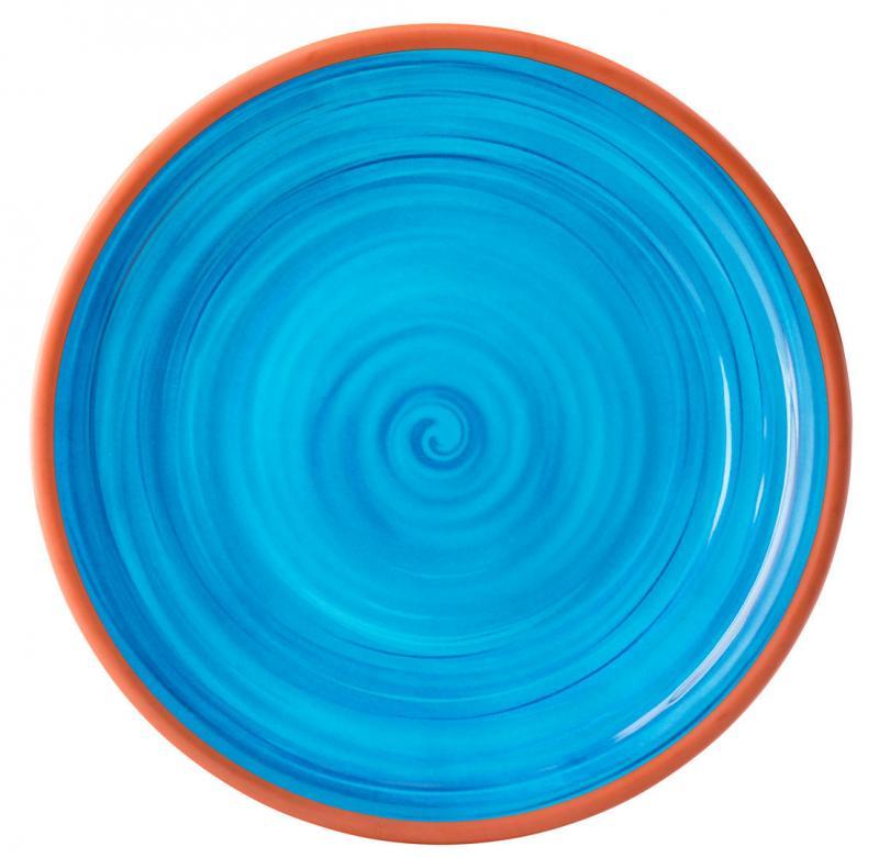 """Calypso Blue Plate 14""""24"""