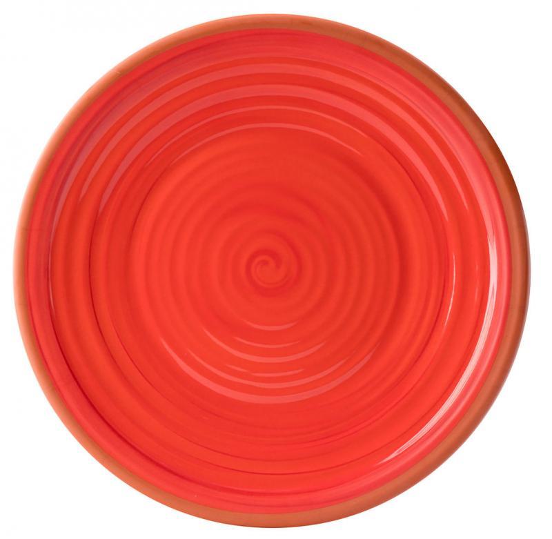 """Calypso Red Plate 14""""24"""