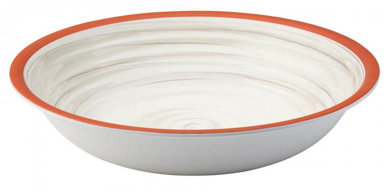 """Calypso White Bowl 13.5""""24"""