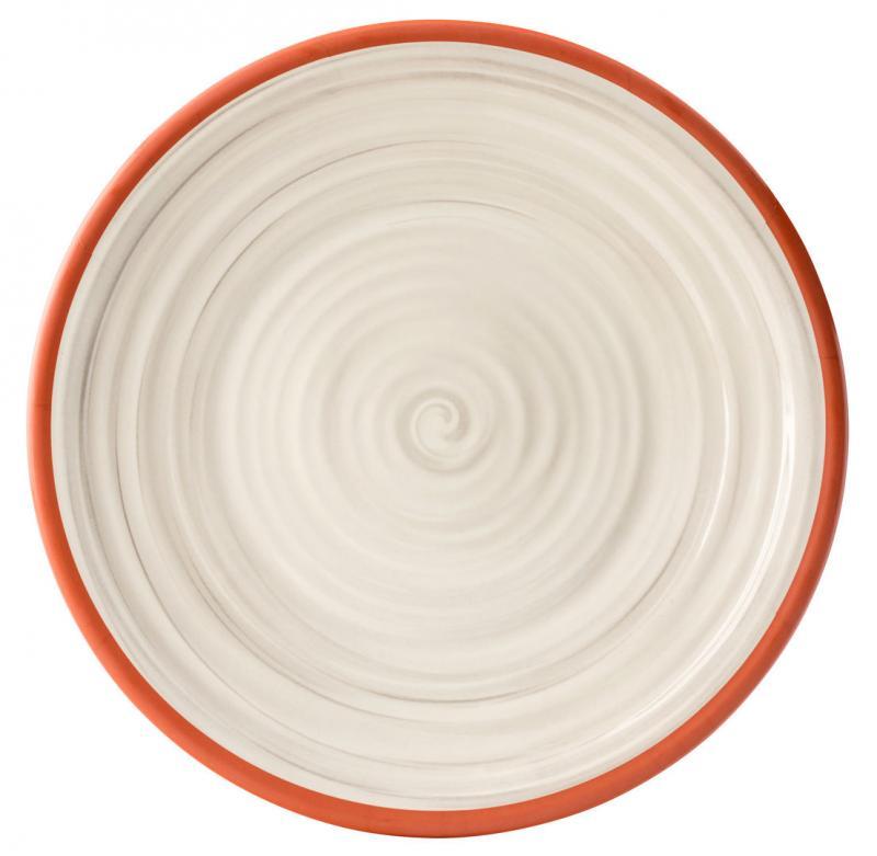 "Calypso White Plate 14""24"