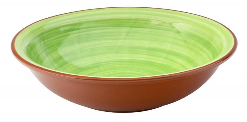 "Salsa Green Bowl 8"" (20.5cm)12"
