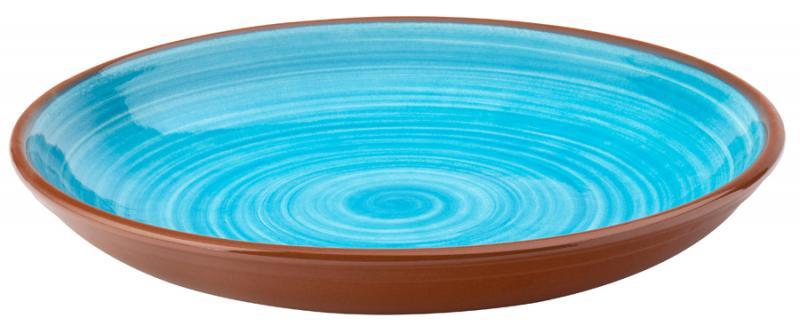 """Salsa Sky Blue Coupe Bowl 9.5"""" (24cm)12"""
