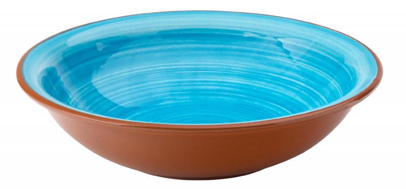 """Salsa Sky Blue Bowl 8"""" (20.5cm)12"""