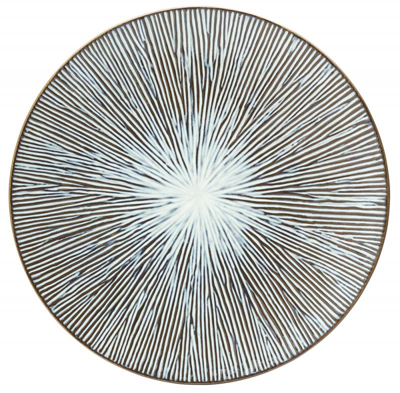 "Allium Sea Plate 10.5"" (27cm)6"