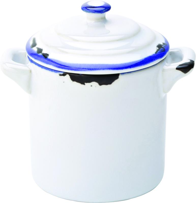 "Avebury Blue Mini Pot 2.25"" (6cm) 4oz (11cl)"
