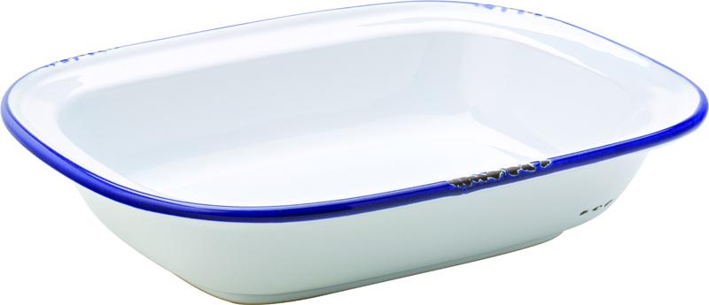 "Avebury Blue Pie Dish 9.5"" (24cm)"