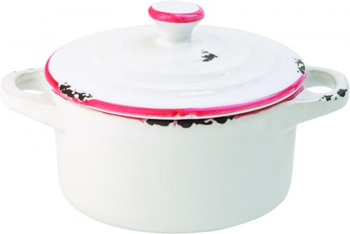 "Avebury Red Mini Casserole 4"" (10.5cm) 8.75oz (25cl)-12"