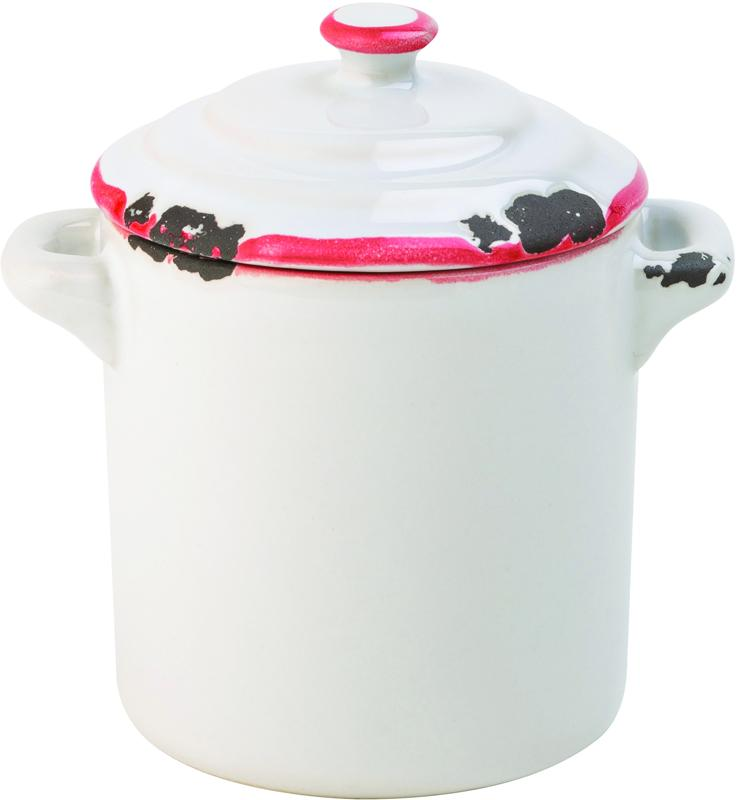 "Avebury Red Mini Pot 2.25"" (6cm) 4oz (11cl)"