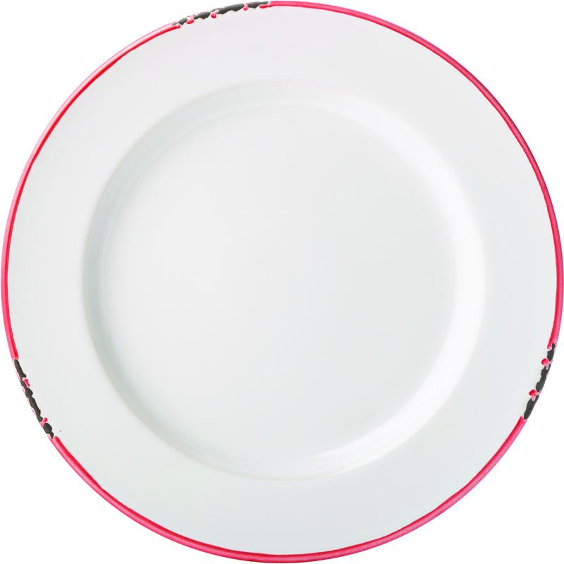 "Avebury Red Plate 10"" (26cm)-6"