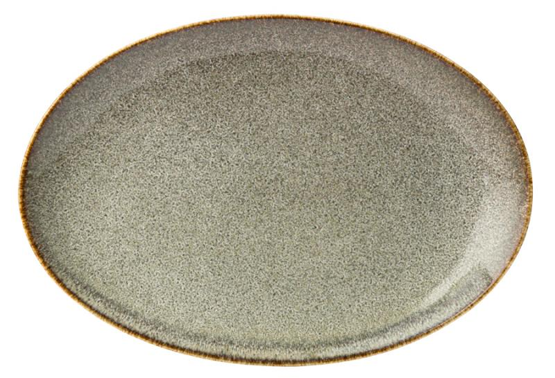 "Lichen Oval Plate 11.75"" (30cm)6"