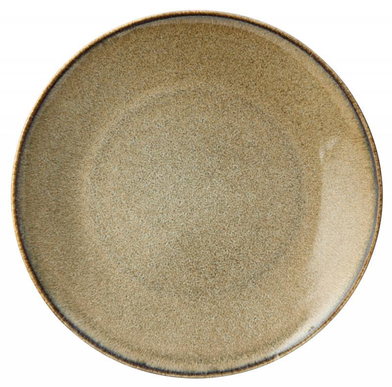 "Lichen Plate 9.75"" (25cm)6"