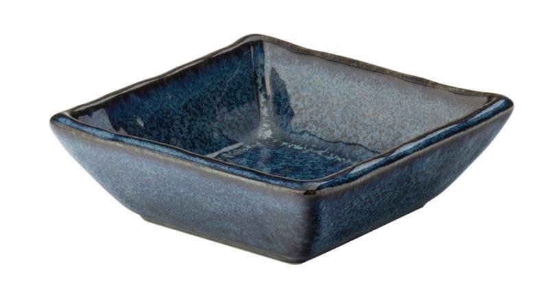 """Azure Square Dish 3.5"""" (9cm)-6"""