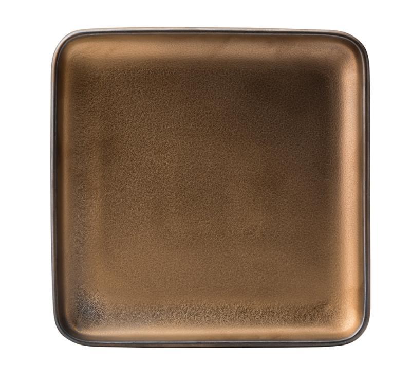 "Fondant Plate Gold 8"" (20cm)"