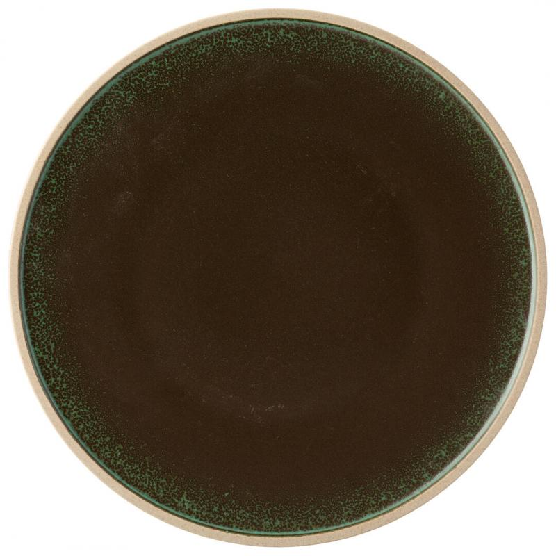 "Pistachio Plate 11.25"" (28.5cm)"